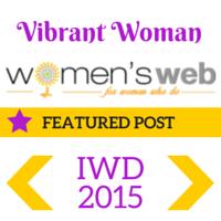 Vibrant Woman badge